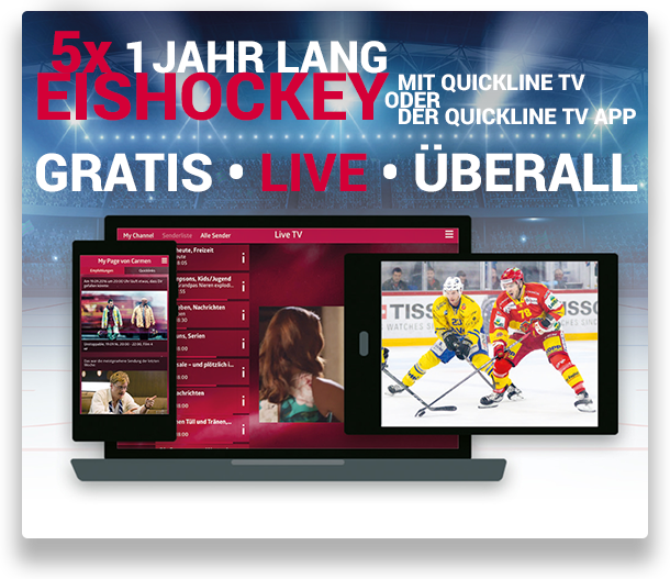 Eishockey Quickline TV