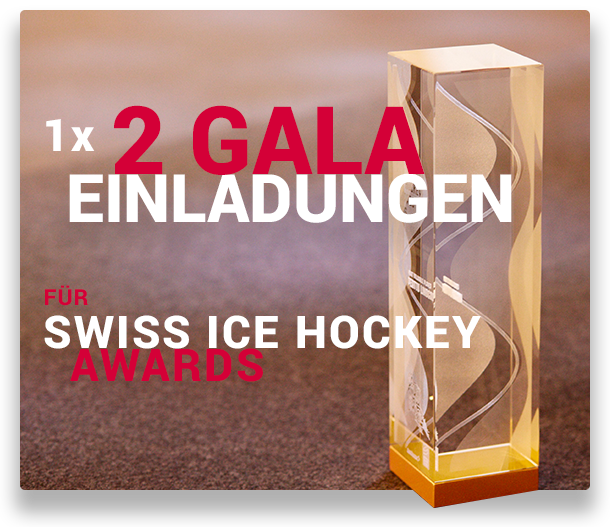 1x 2 Gala-Einladungen für Swiss Ice Hockey Awards